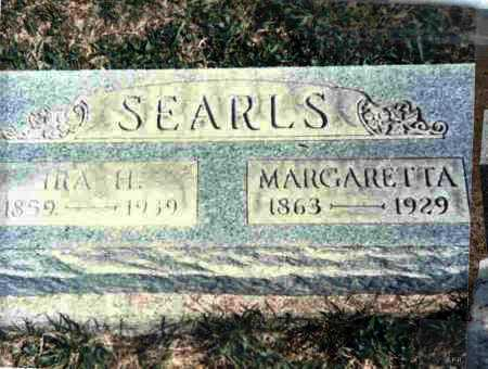 MCCOMAS SEARLS, MARGARETTA - Meigs County, Ohio | MARGARETTA MCCOMAS SEARLS - Ohio Gravestone Photos