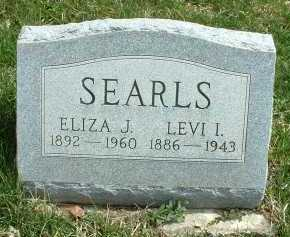 SEARLS, ELIZA J. - Meigs County, Ohio | ELIZA J. SEARLS - Ohio Gravestone Photos