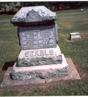 COTTRILL SEARLS, MARY - Meigs County, Ohio | MARY COTTRILL SEARLS - Ohio Gravestone Photos