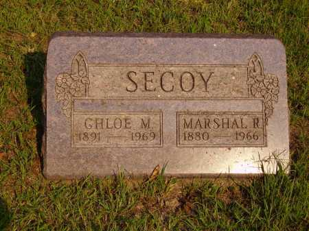 SECOY, CHLOE M. - Meigs County, Ohio | CHLOE M. SECOY - Ohio Gravestone Photos