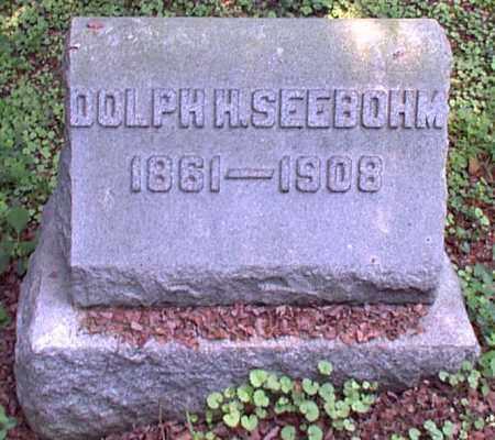 SEEBOHM, DOLPH H. - Meigs County, Ohio | DOLPH H. SEEBOHM - Ohio Gravestone Photos