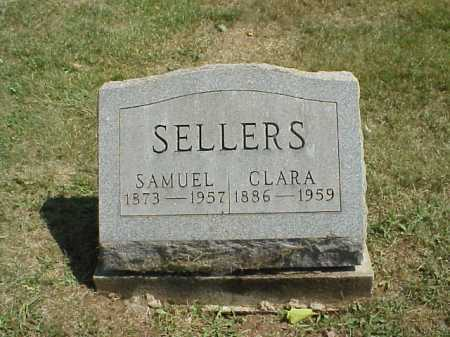SELLERS, CLARA - Meigs County, Ohio | CLARA SELLERS - Ohio Gravestone Photos