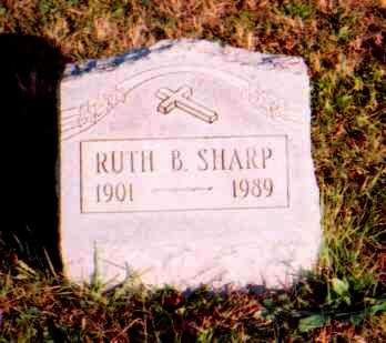 BOWEN SHARP, RUTH - Meigs County, Ohio | RUTH BOWEN SHARP - Ohio Gravestone Photos