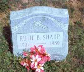BOWEN SHARP, RUTH B. - Meigs County, Ohio | RUTH B. BOWEN SHARP - Ohio Gravestone Photos