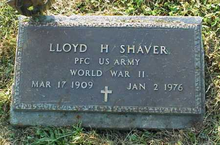 SHAVER, LLOYD H. - MILITARY - Meigs County, Ohio | LLOYD H. - MILITARY SHAVER - Ohio Gravestone Photos