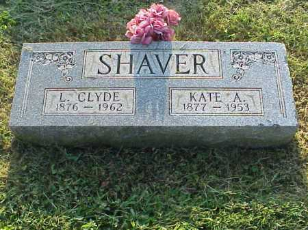 SHAVER, KATE AMANDA - Meigs County, Ohio | KATE AMANDA SHAVER - Ohio Gravestone Photos