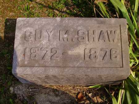 SHAW, GUY M. - Meigs County, Ohio | GUY M. SHAW - Ohio Gravestone Photos