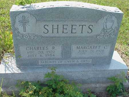 SHEETS, CHARLES R. - Meigs County, Ohio | CHARLES R. SHEETS - Ohio Gravestone Photos