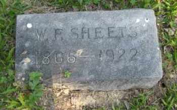 SHEETS, W F - Meigs County, Ohio | W F SHEETS - Ohio Gravestone Photos