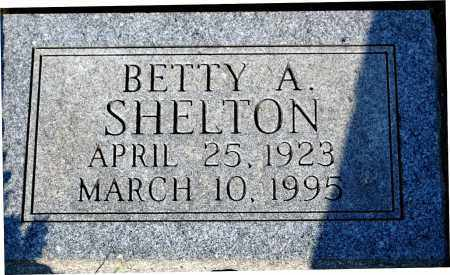 SHELTON, BETTY A. - Meigs County, Ohio | BETTY A. SHELTON - Ohio Gravestone Photos
