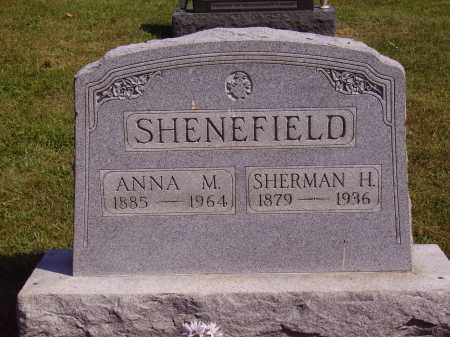 SHENEFIELD, SHERMAN H. - Meigs County, Ohio | SHERMAN H. SHENEFIELD - Ohio Gravestone Photos