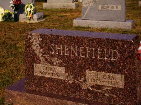 SHENEFIELD, CORA - Meigs County, Ohio | CORA SHENEFIELD - Ohio Gravestone Photos