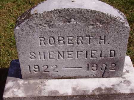 SHENEFIELD, ROBERT H. - Meigs County, Ohio | ROBERT H. SHENEFIELD - Ohio Gravestone Photos