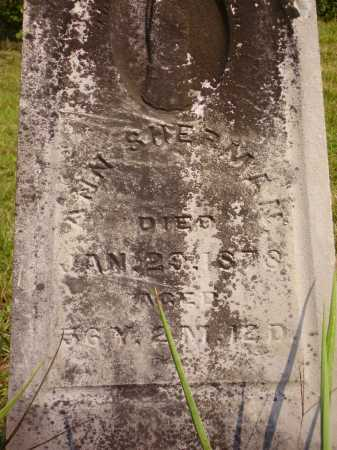SHERMAN, ANN - Meigs County, Ohio | ANN SHERMAN - Ohio Gravestone Photos