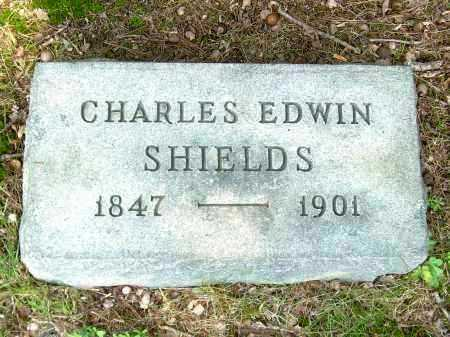 SHIELDS, CHARLES EDWIN - Meigs County, Ohio | CHARLES EDWIN SHIELDS - Ohio Gravestone Photos