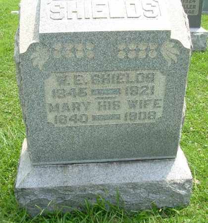 SHIELDS, W E - Meigs County, Ohio | W E SHIELDS - Ohio Gravestone Photos
