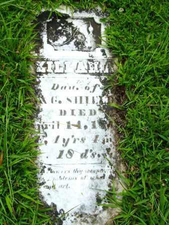 SHIELDS, ZILLAH - Meigs County, Ohio   ZILLAH SHIELDS - Ohio Gravestone Photos