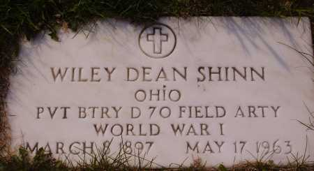 SHINN, WILEY DEAN - Meigs County, Ohio | WILEY DEAN SHINN - Ohio Gravestone Photos