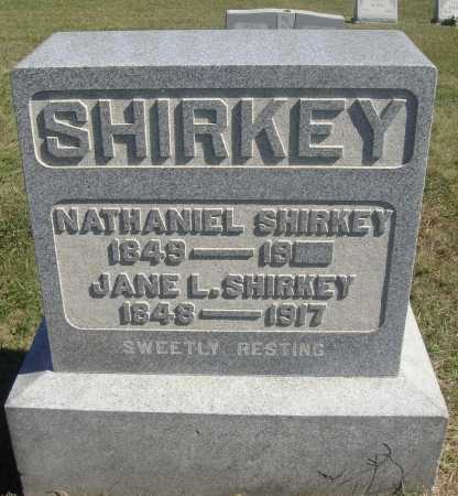 SHIRKEY, JANE L. - Meigs County, Ohio | JANE L. SHIRKEY - Ohio Gravestone Photos