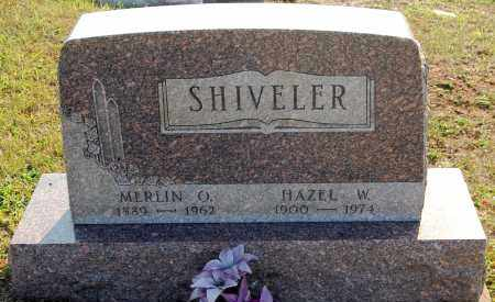 SHIVELER, MERLIN O. - Meigs County, Ohio | MERLIN O. SHIVELER - Ohio Gravestone Photos