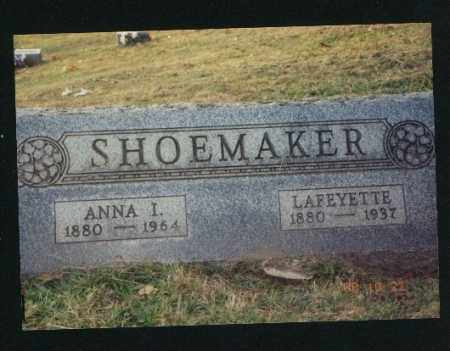 SHOEMAKER, LAFEYETTE - Meigs County, Ohio | LAFEYETTE SHOEMAKER - Ohio Gravestone Photos