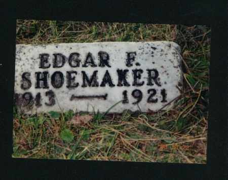 SHOEMAKER, EDGAR FRANKLIN - Meigs County, Ohio | EDGAR FRANKLIN SHOEMAKER - Ohio Gravestone Photos
