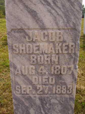 SHOEMAKER, JACOB - Meigs County, Ohio | JACOB SHOEMAKER - Ohio Gravestone Photos