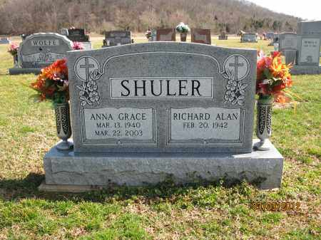 SHULER, RICHARD ALAN - Meigs County, Ohio | RICHARD ALAN SHULER - Ohio Gravestone Photos