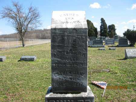 SHULER, ESTHER JANE - Meigs County, Ohio | ESTHER JANE SHULER - Ohio Gravestone Photos