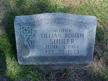 ROUSH SHULER, LILLIAN - Meigs County, Ohio | LILLIAN ROUSH SHULER - Ohio Gravestone Photos
