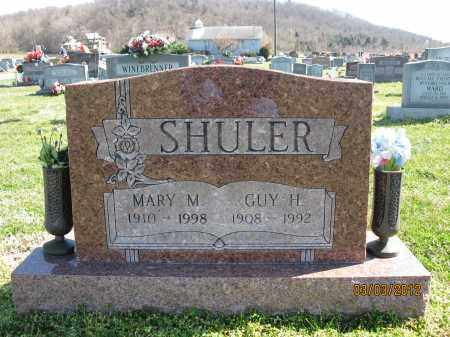 SHULER, MARY M - Meigs County, Ohio | MARY M SHULER - Ohio Gravestone Photos