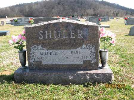 SHULER, EARL - Meigs County, Ohio | EARL SHULER - Ohio Gravestone Photos
