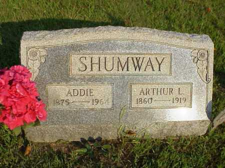 SHUMWAY, ADDIE - Meigs County, Ohio | ADDIE SHUMWAY - Ohio Gravestone Photos