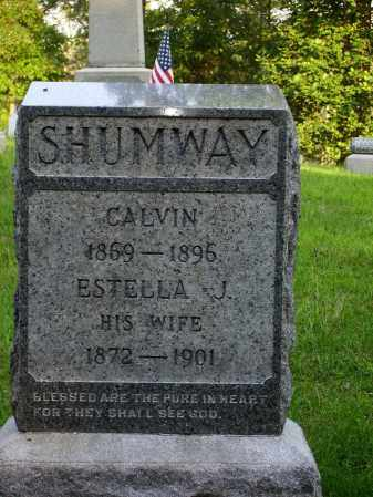 SHUMWAY, CALVIN - Meigs County, Ohio | CALVIN SHUMWAY - Ohio Gravestone Photos
