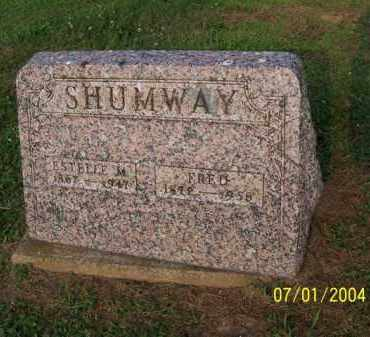 SHUMWAY, FRED - Meigs County, Ohio | FRED SHUMWAY - Ohio Gravestone Photos