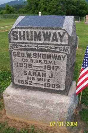 SHUMWAY, GEORGE - Meigs County, Ohio | GEORGE SHUMWAY - Ohio Gravestone Photos