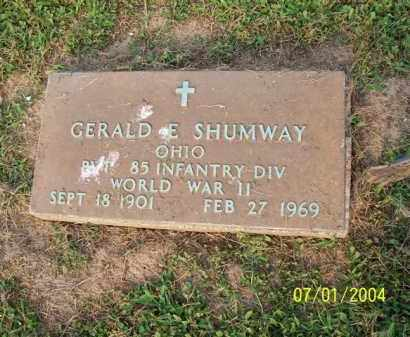 SHUMWAY, GERALD - Meigs County, Ohio | GERALD SHUMWAY - Ohio Gravestone Photos