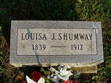 SHUMWAY, LOUISA JANE - Meigs County, Ohio | LOUISA JANE SHUMWAY - Ohio Gravestone Photos