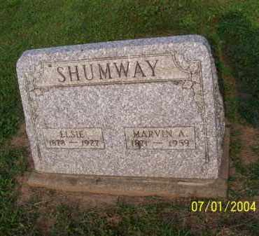 SHUMWAY, ELSIE - Meigs County, Ohio | ELSIE SHUMWAY - Ohio Gravestone Photos