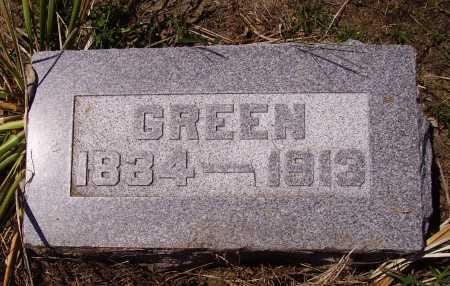 SIDENSTRICKER, GREEN - Meigs County, Ohio | GREEN SIDENSTRICKER - Ohio Gravestone Photos