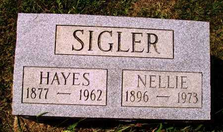 SIGLER, HAYES - Meigs County, Ohio | HAYES SIGLER - Ohio Gravestone Photos
