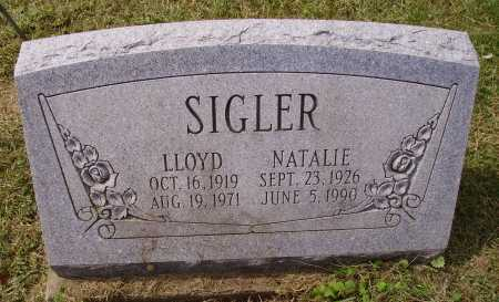 SIGLER, NATALIE - Meigs County, Ohio | NATALIE SIGLER - Ohio Gravestone Photos