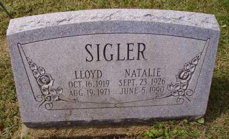 SIGLER, LLOYD - Meigs County, Ohio | LLOYD SIGLER - Ohio Gravestone Photos