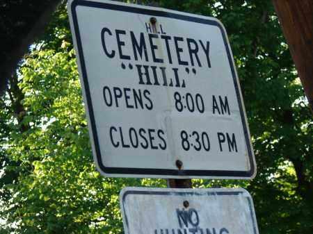 HILL CEMETERY, SIGN - Meigs County, Ohio | SIGN HILL CEMETERY - Ohio Gravestone Photos