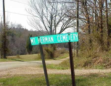 MOUNT HERMAN, SIGN - Meigs County, Ohio | SIGN MOUNT HERMAN - Ohio Gravestone Photos