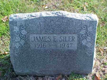 SILER, JAMES E. - Meigs County, Ohio | JAMES E. SILER - Ohio Gravestone Photos