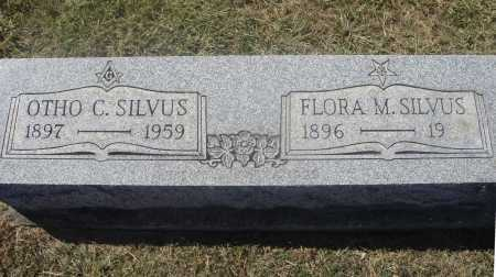 SILVUS, OTHO C. - OVERALL VIEW - Meigs County, Ohio | OTHO C. - OVERALL VIEW SILVUS - Ohio Gravestone Photos