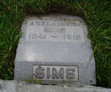 FOX SIMS, ADELAIDE ADELE - Meigs County, Ohio | ADELAIDE ADELE FOX SIMS - Ohio Gravestone Photos