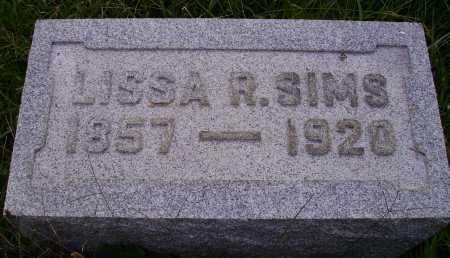 SIMS, LISSA R. - Meigs County, Ohio | LISSA R. SIMS - Ohio Gravestone Photos