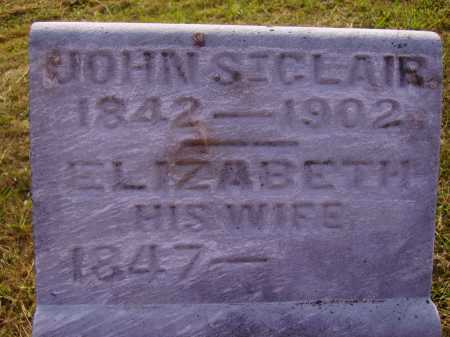 SINCLAIR, ELIZABETH - Meigs County, Ohio | ELIZABETH SINCLAIR - Ohio Gravestone Photos